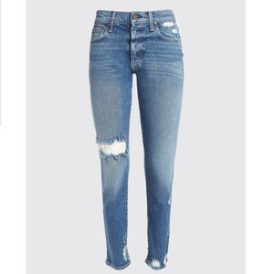 """Amazing"" distressed jeans"